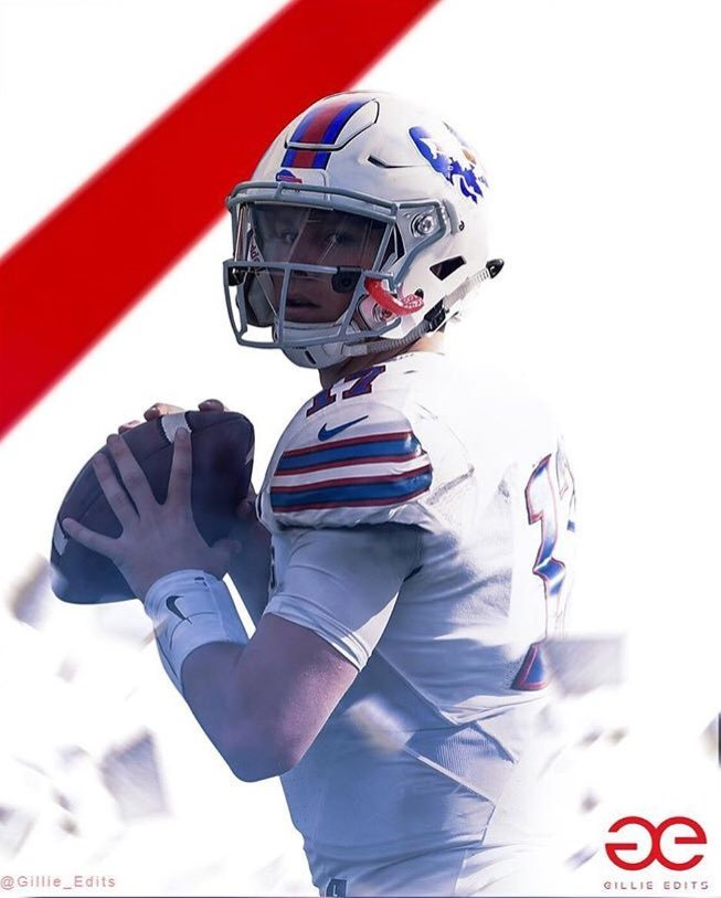 new product 1a821 fed22 Josh Allen in a Bills uniform. - The Stadium Wall Archives ...